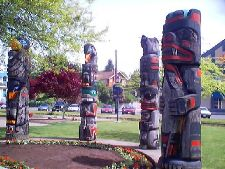 Vancouver Island Totem Poles